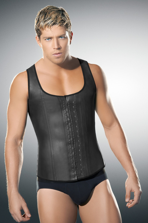Mens.LatexVest-Front